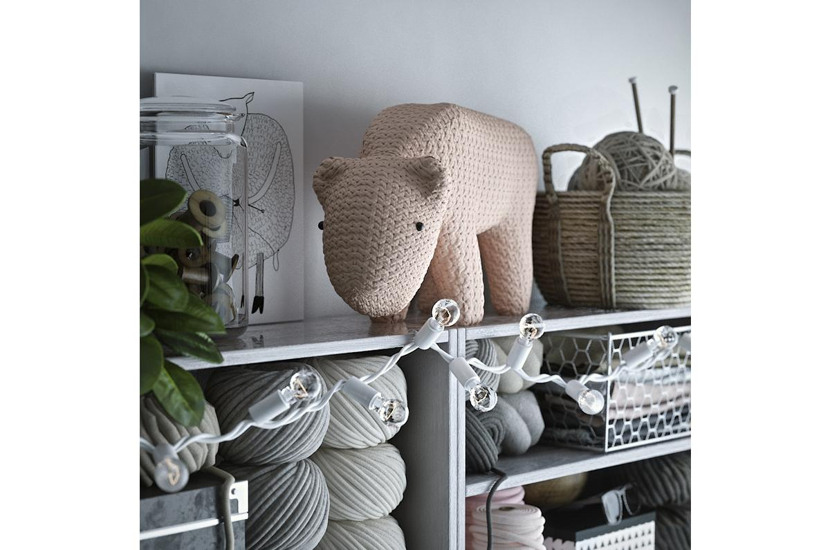 fabric pig on a shelf 3d model turbosquid