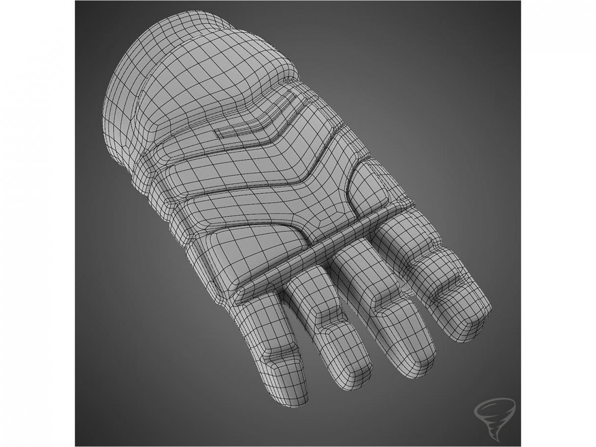 ccm gloves wireframe 3d model turbosquid