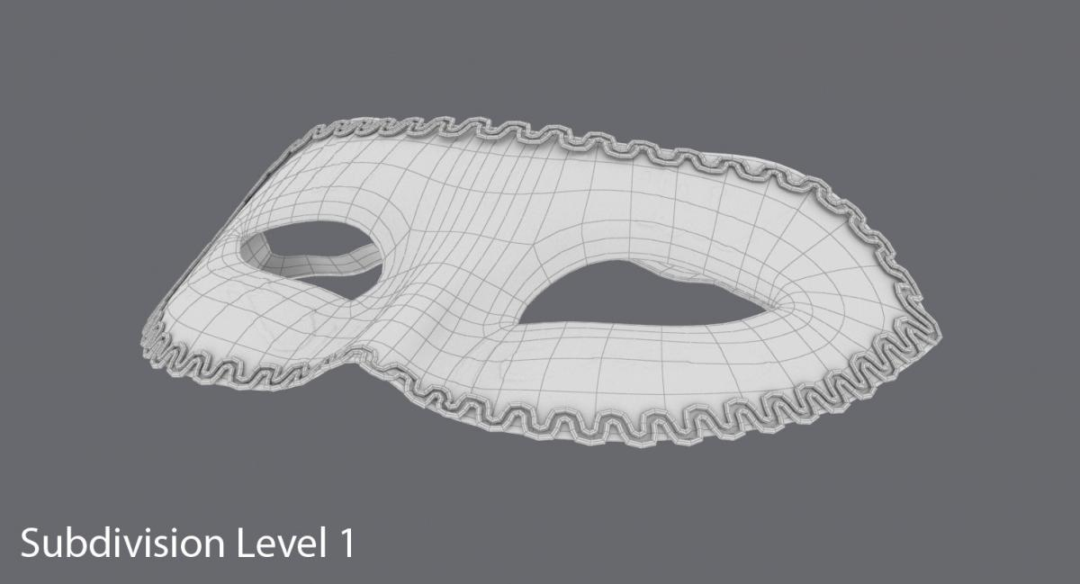 eyemask 3dsmax 3d model turbosquid
