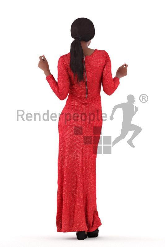 female dancing 3d model renderpeople