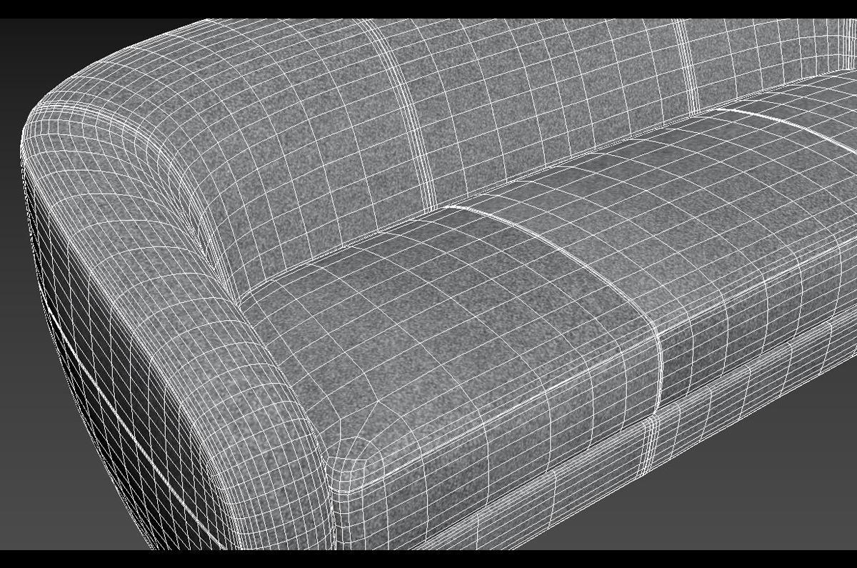 interior holly hunt furniture 3d model