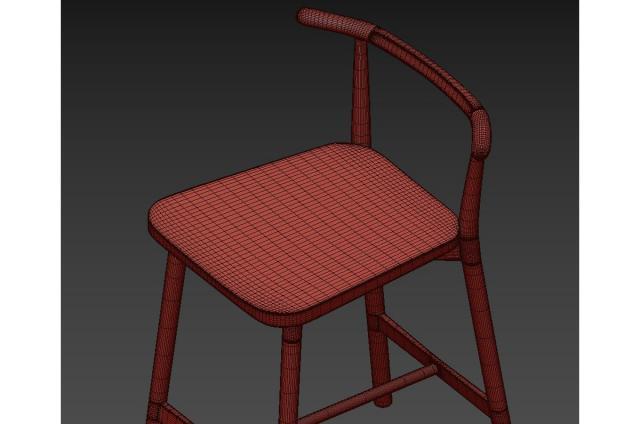 frazer stool 3d model