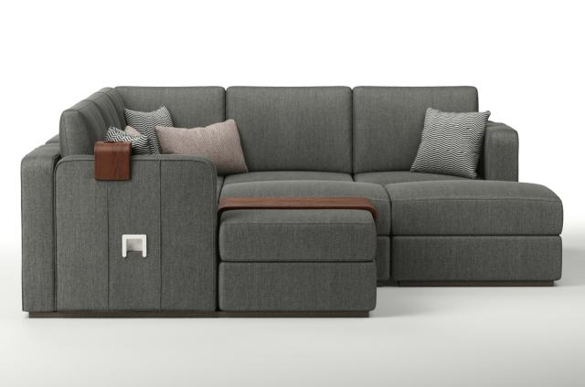 modular sofa 3d model lovesac