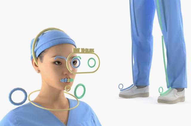 scientific people 3d model rigged turbosquid