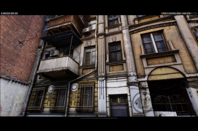 hi res photorealistic european buildings 3d model turbosquid