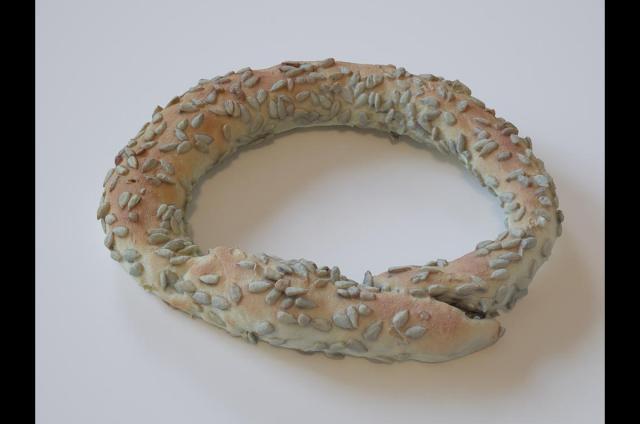 Greek Sesame Bread rings 3d scanned model