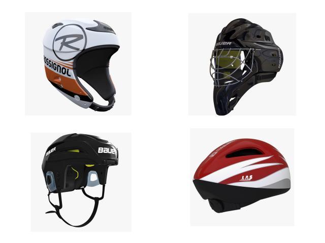 helmets 3d models turbosquid