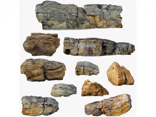 limestones 3d collection turbosquid