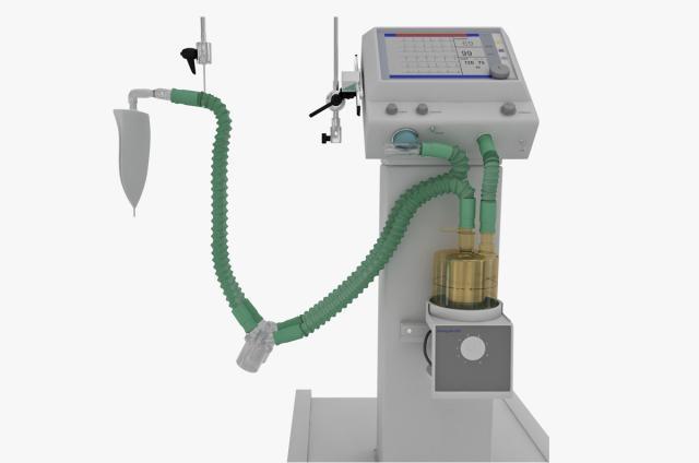respiratory machine 3d model turbosquid