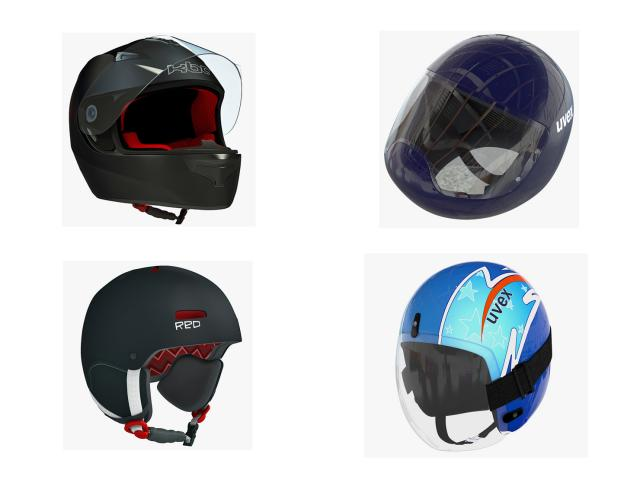 helmets for sports 3d models turbosquid