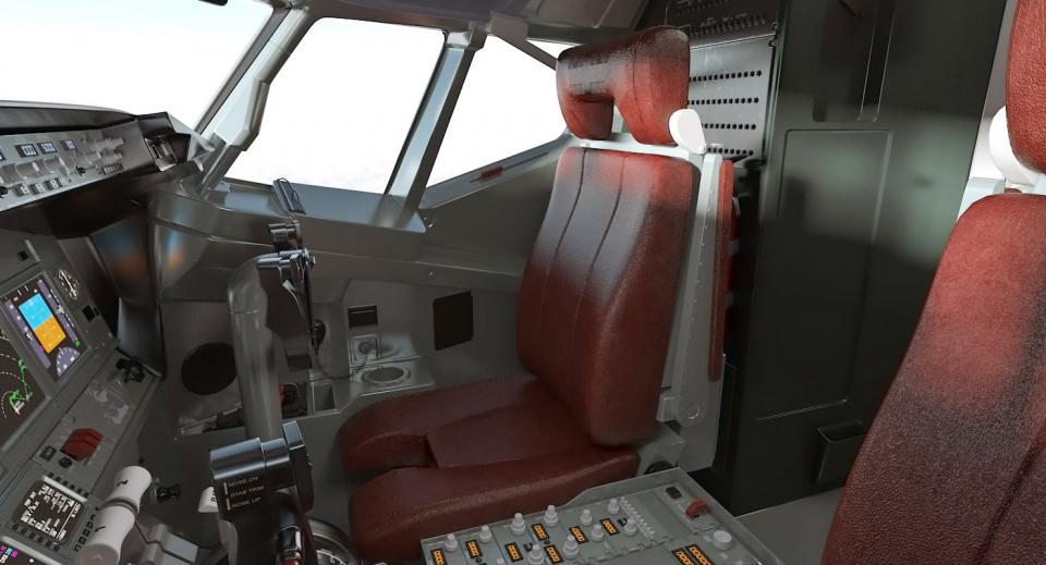 boeing interior 3d model turbosquid