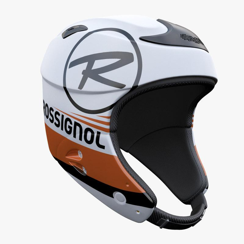 ski helmet 3d model turbosquid