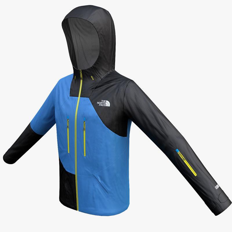 snowboard jacket 3d model turbosquid