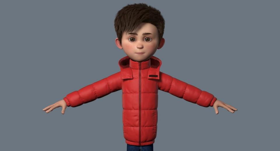 full body with clothes 3d model turbosquid