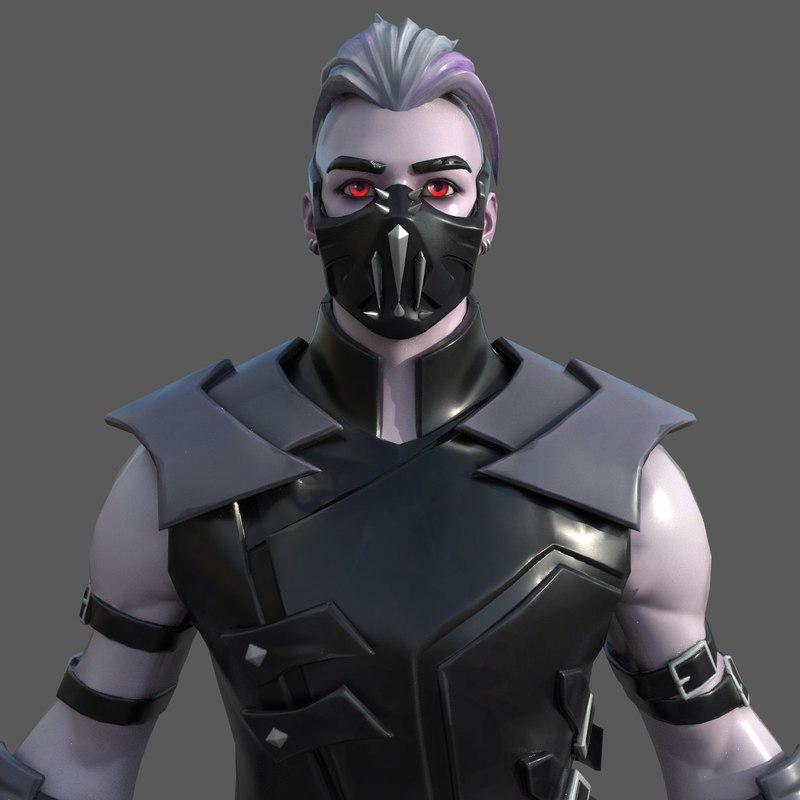 3d Fortnite Characters Emote Animations And Music Model Best Of