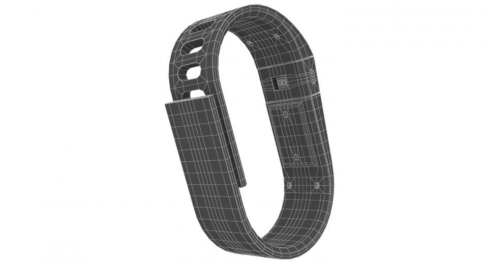 fitness bracelet 3d model