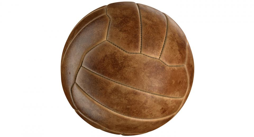 vintage sports ball 3d model turbosquid