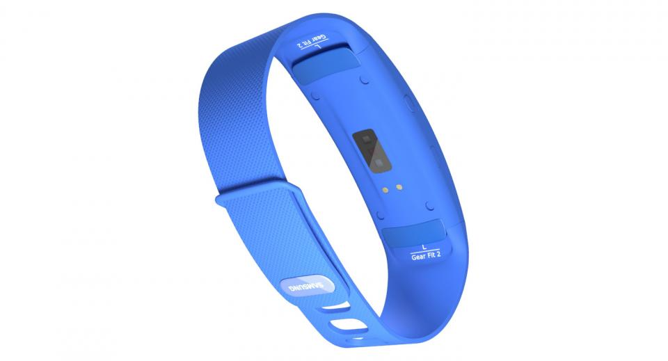 samsung gear fit 3d model