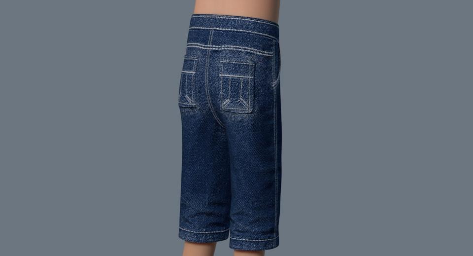 boys pants 3d model turbosquid