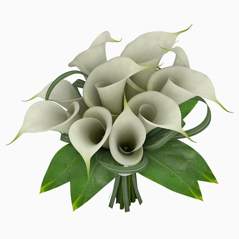 bouquet 3d model turbosquid