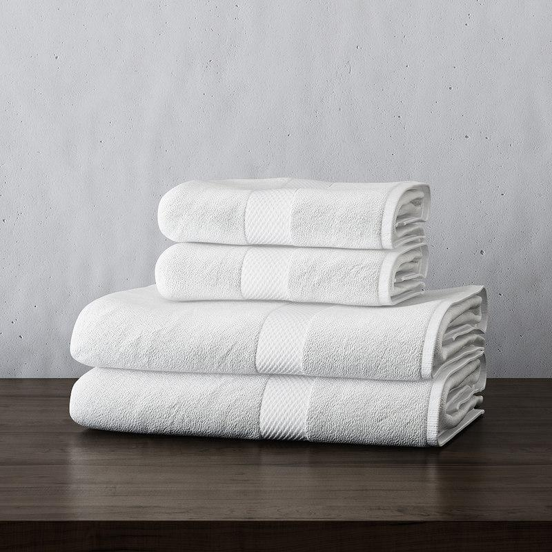 fabric towels 3d model turbosquid