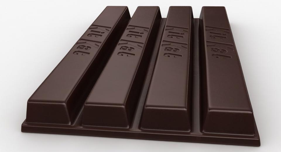 chocolate 3d model turbosquid