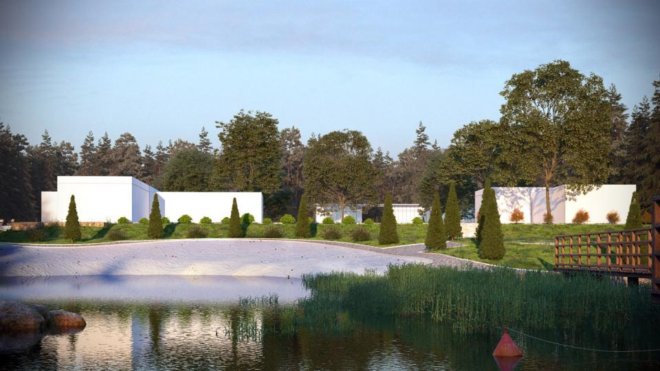 archmodels lake 3d model evermotion turbosquid