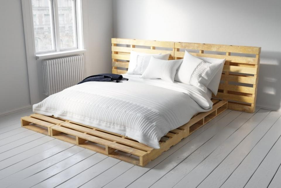 bed made of crates 3d model turbosquid