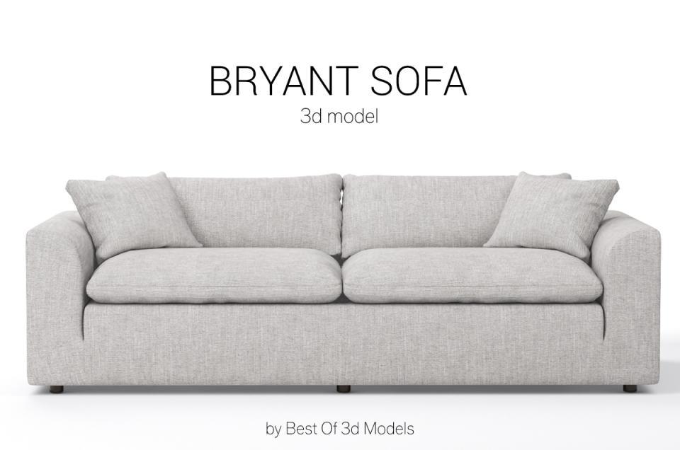 bryant sofa joybird 3d model