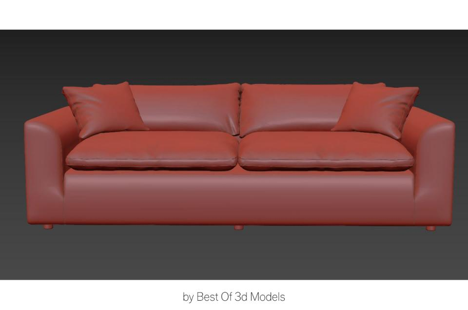 interior furniture sofa 3d model