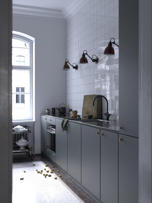 kitchen 3d model turbosquid