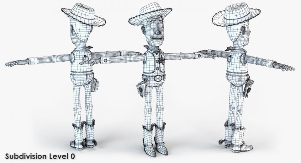 pixar character 3d model turbosquid
