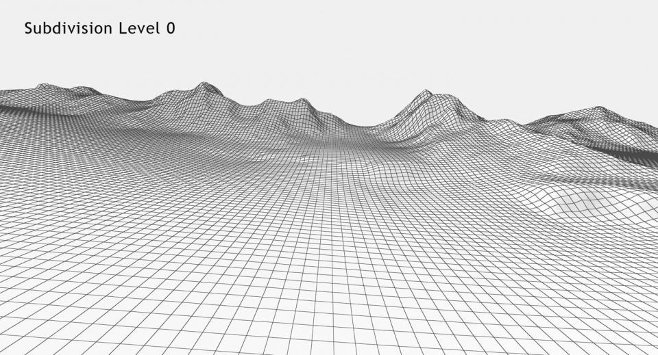 photorealistic snow mountain 3d model turbosquid