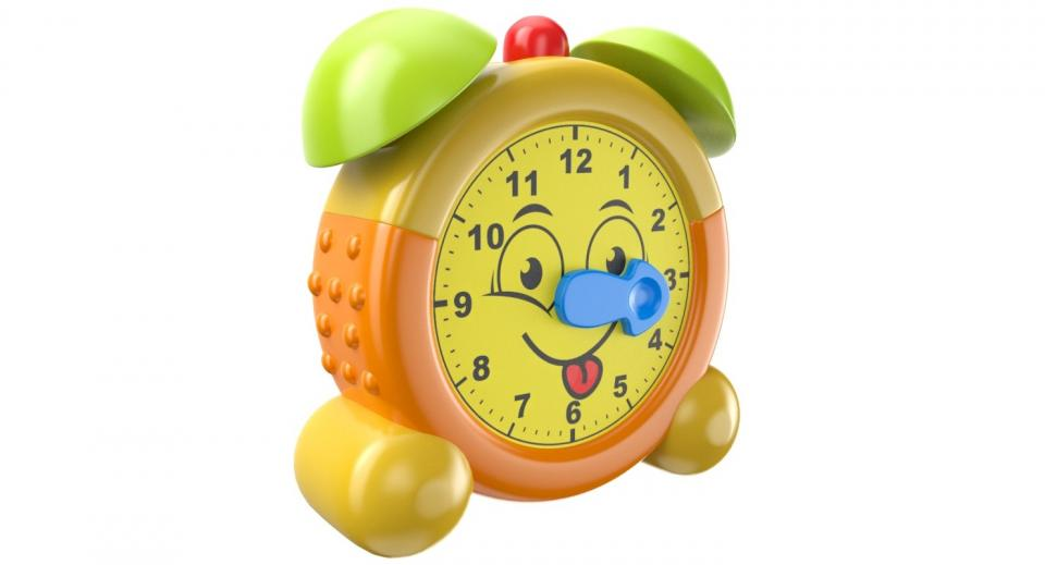 alarm clock toy 3d model turbosquid