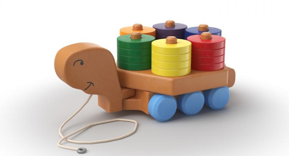 pull toy 3d model turbosquid