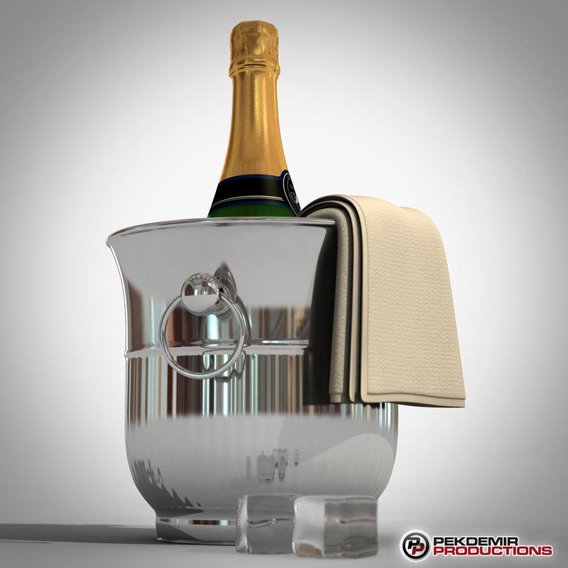 liquor 3d model turbosquid