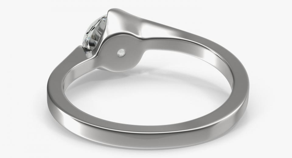 platinum ring 3d model turbosquid