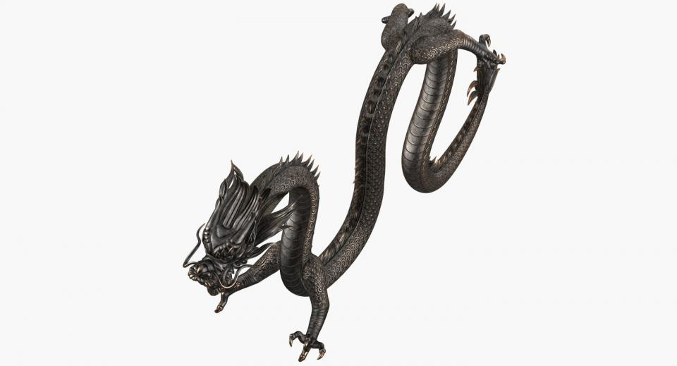 asian mythological creature 3d model turbosquid