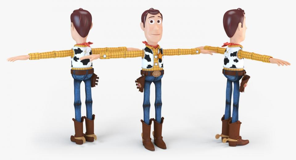 sheriff woody 3d model turbosquid