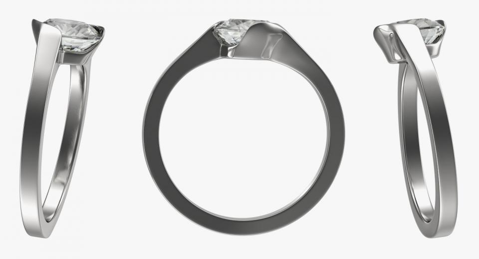 silver ring 3d model turbosquid