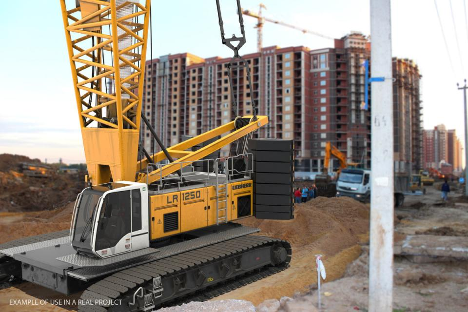 industrial crane 3d model turbosquid