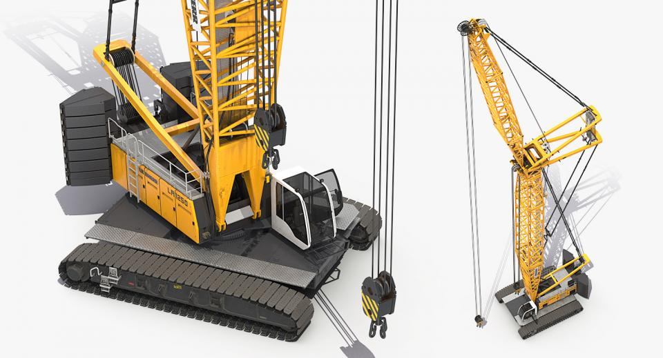 machine for lifting heavy things 3d model turbosquid