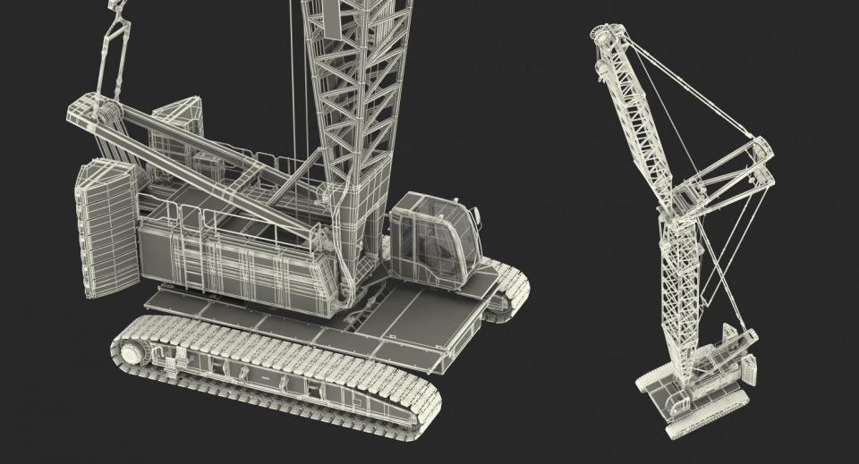 construction equipment 3d model turbosquid