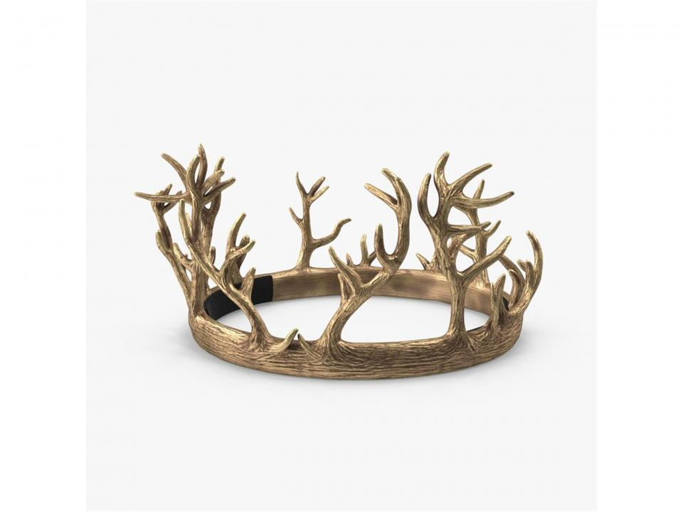 renly baratheon crown 3d model turbosquid