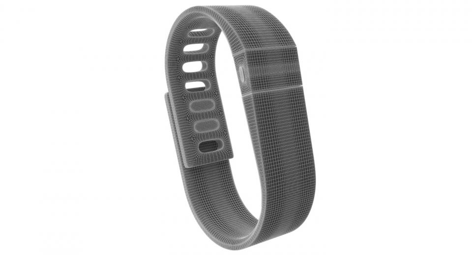 fitbit charge 3d model