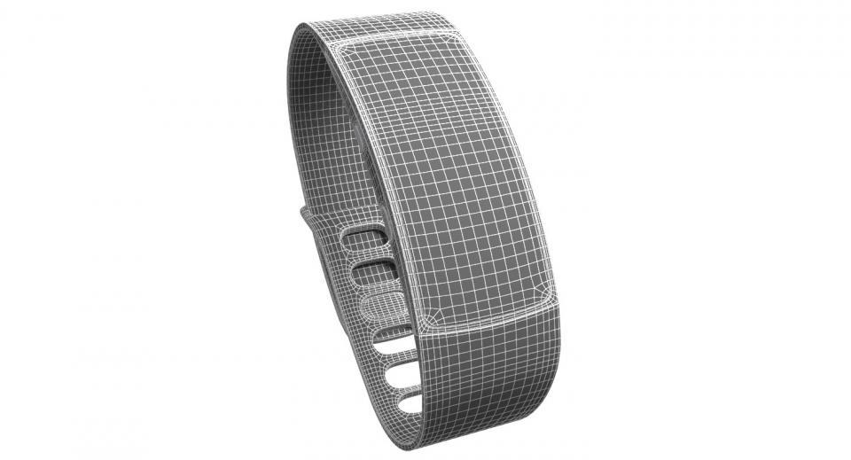 samsung smart watch 3d model