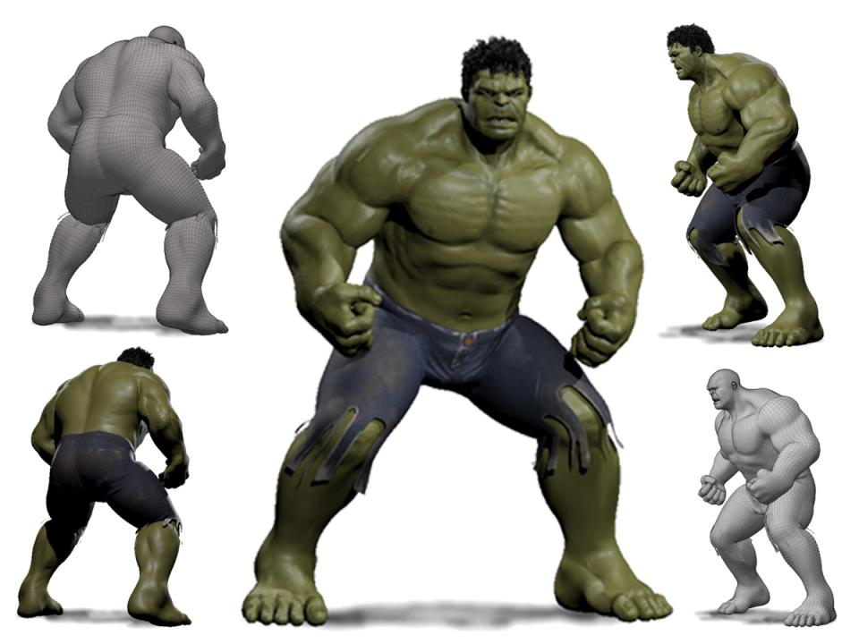 superhero character 3d model turbosquid