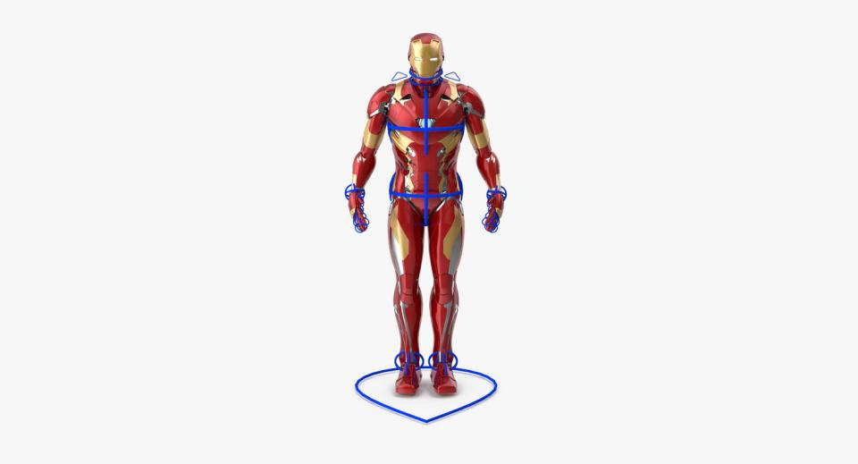 marvel comic character 3d model turbosquid