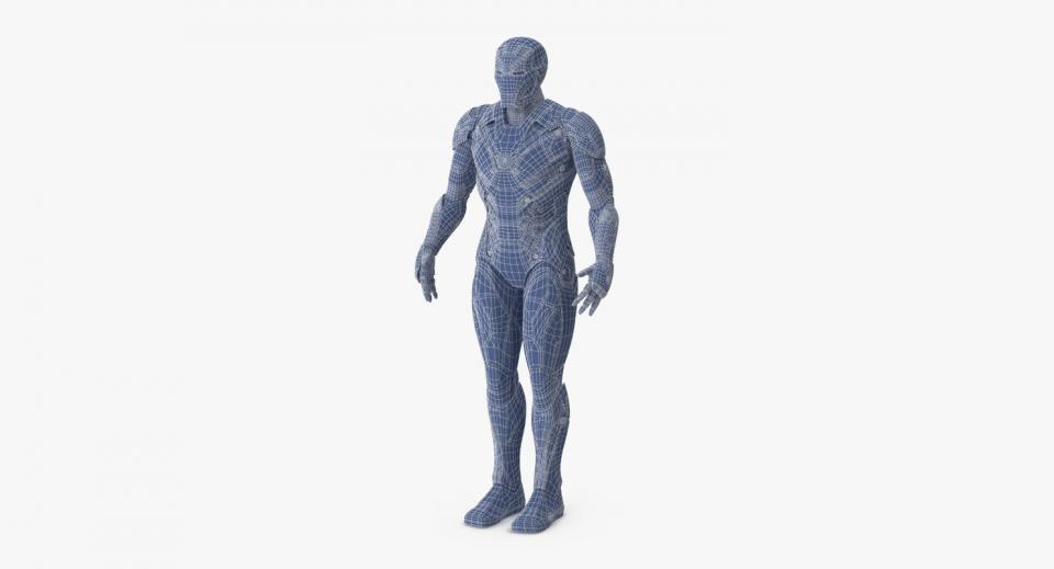 Bleeding Edge Armor iron man 3d model turbosquid