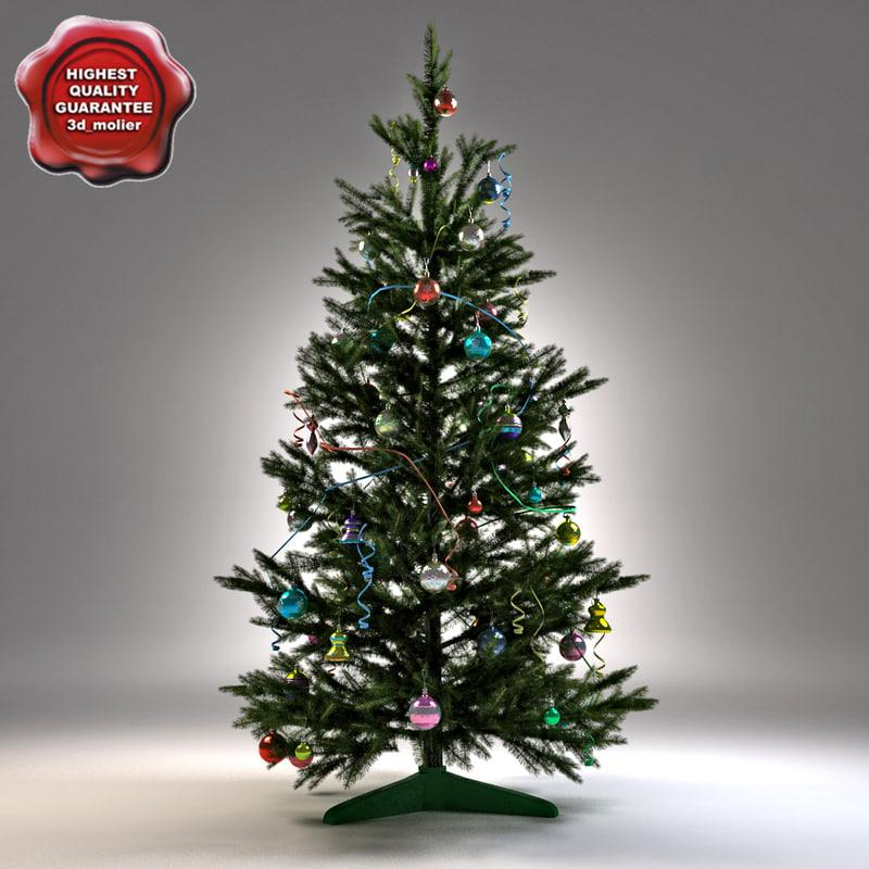 christmas tree 3d model turbosquid